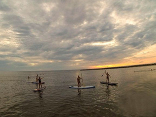 Stand-UP Paddle at Sunset
