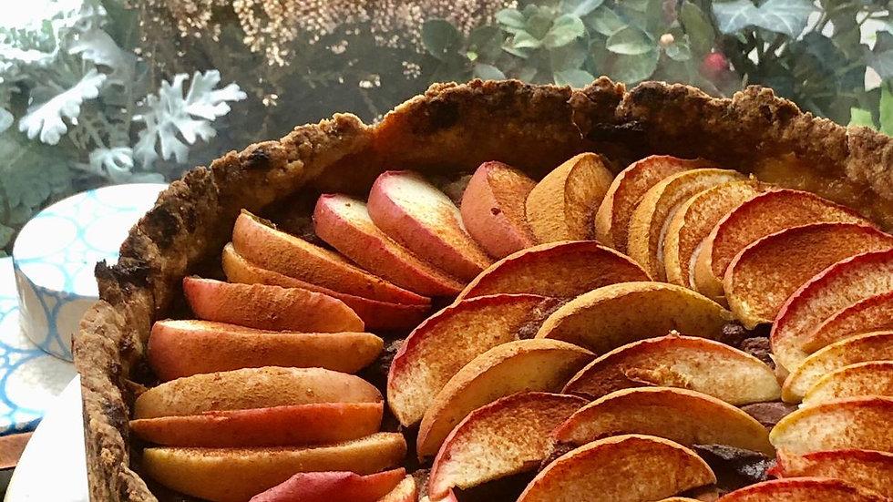 Cinnamon and brown sugar apple pie