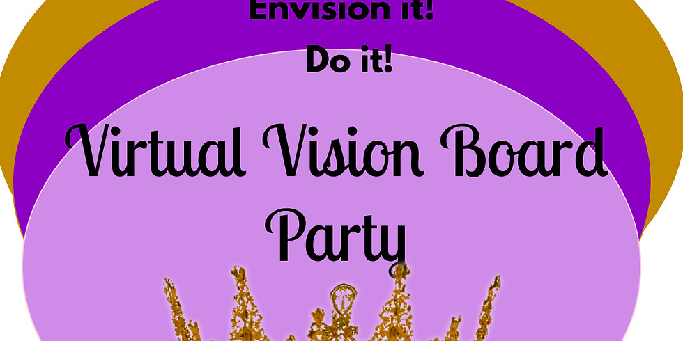 Virtual Vision Board Party