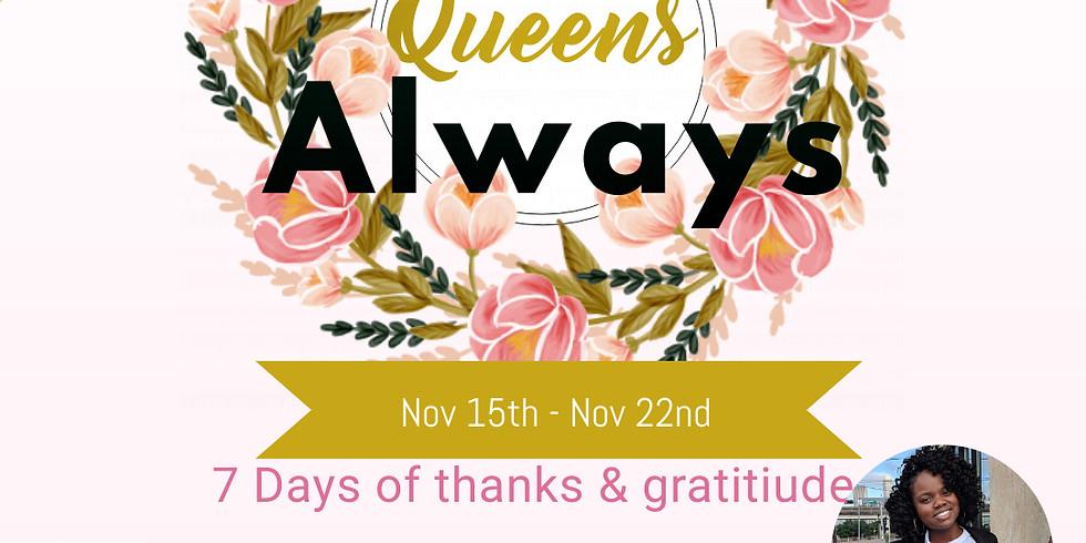 7 Days of Thanks Challenge