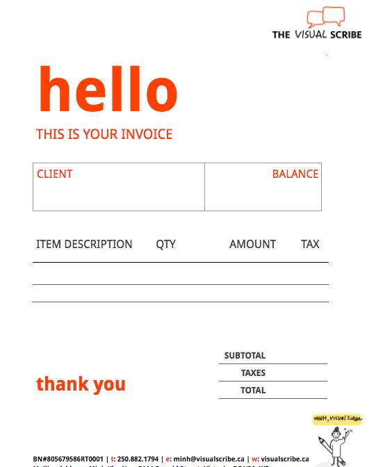 Visual Scribe_Invoice Template
