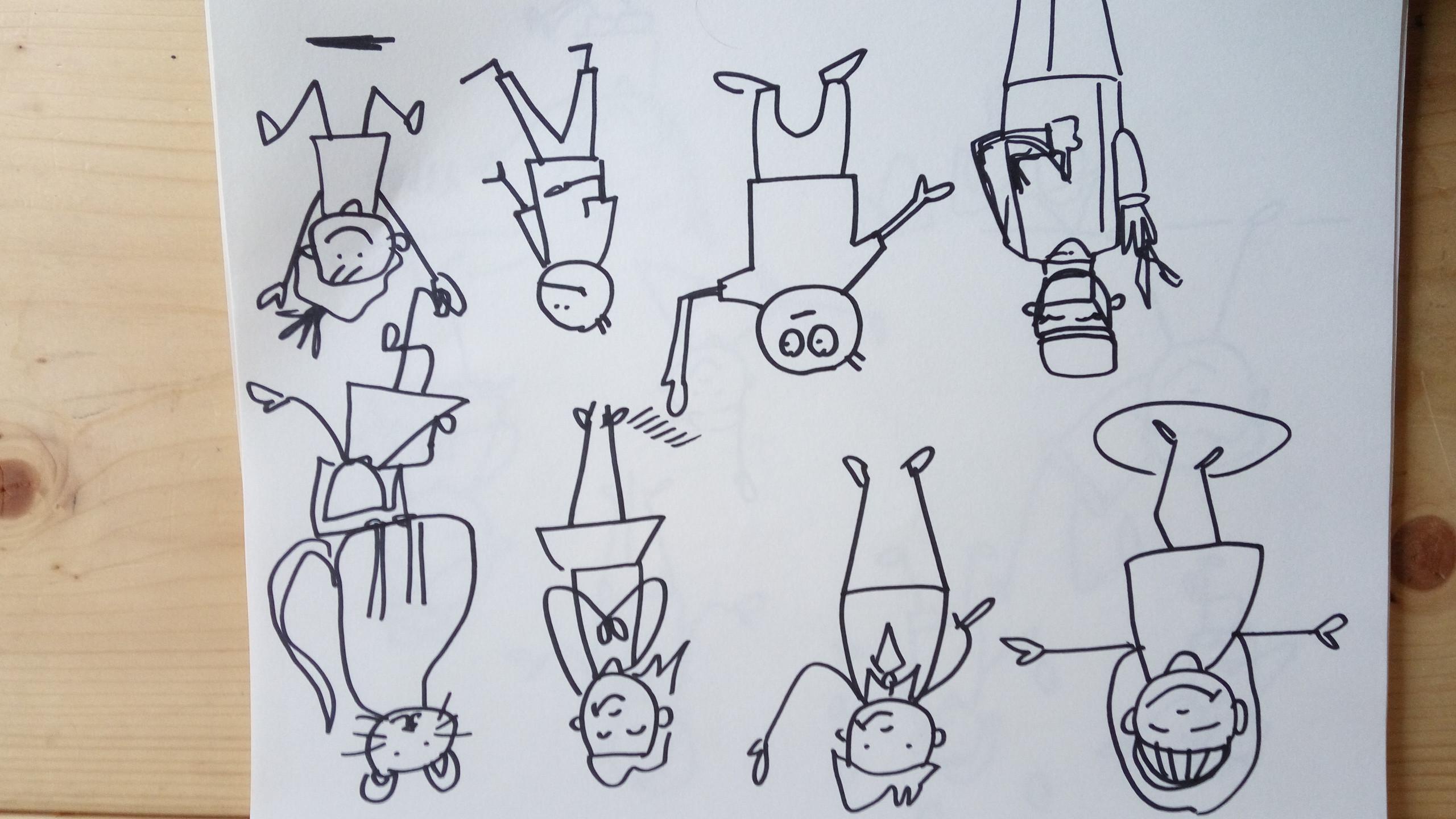 Visual Scribe_Sketchbook People