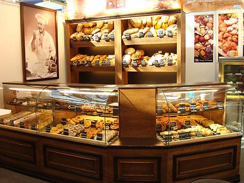 Магазин горячей выпечки и хлебобулочных изделий