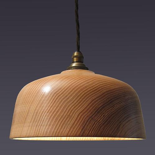 'Loft Bell' Ash Wood Shade