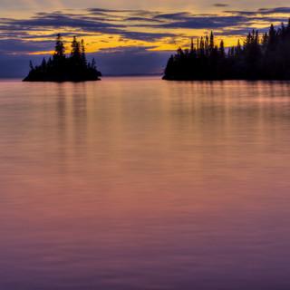 Isle Royale Herring Bay Dusk