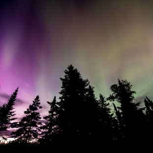 Isle Royale Aurora
