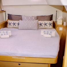 Comfrotable cabins aboard Gypsy Princess