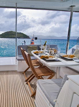 dining onboard