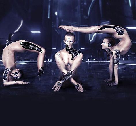 מיצגים חיים לאירועים רקדנים אקרובטים