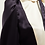 Thumbnail: Jolly Navy Cream Combo Tuxedo Bib Blouse and a Bowtie