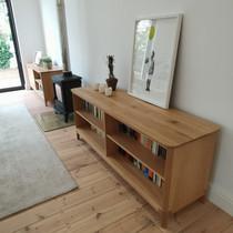 Solid Oak Server / Bookshelf