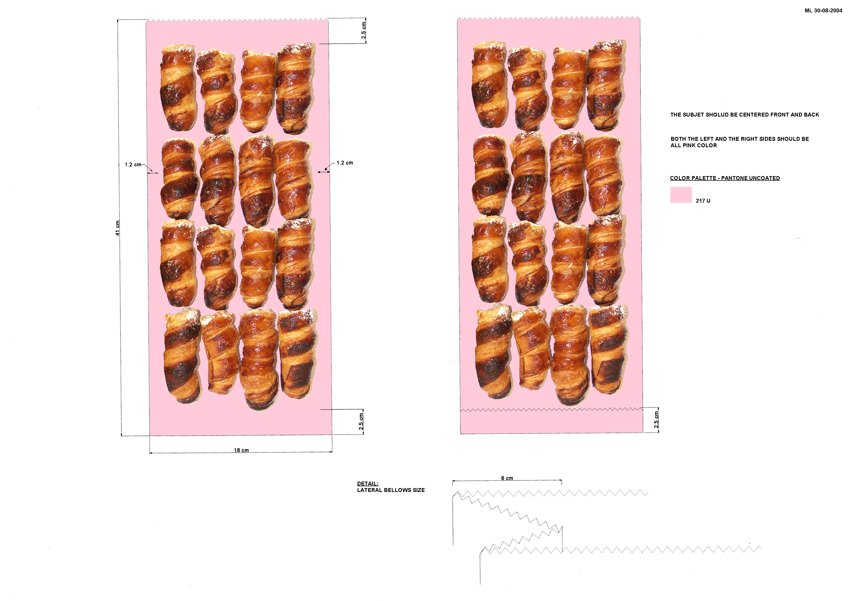Envelope Designs by Prada