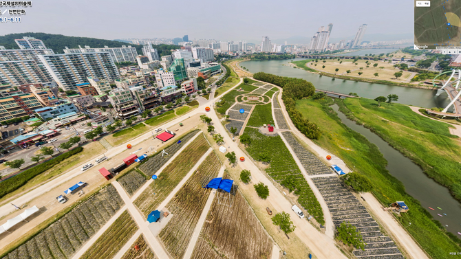 가상현실로 만나는 '2017 태화강국제설치미술제'