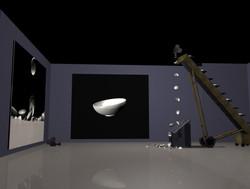 광주비엔날레 주제 좌측면 스크린 없이 더넓게