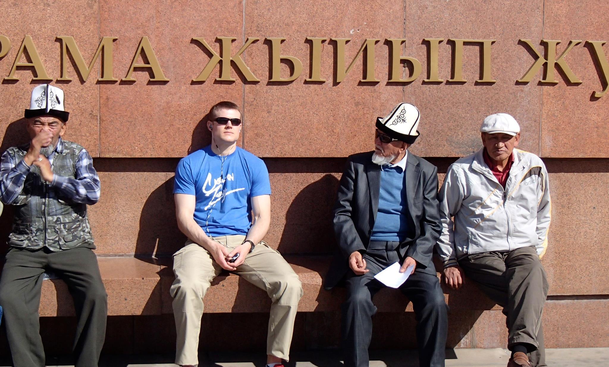 Capt. Henke, Bishkek Kyrgyzstan