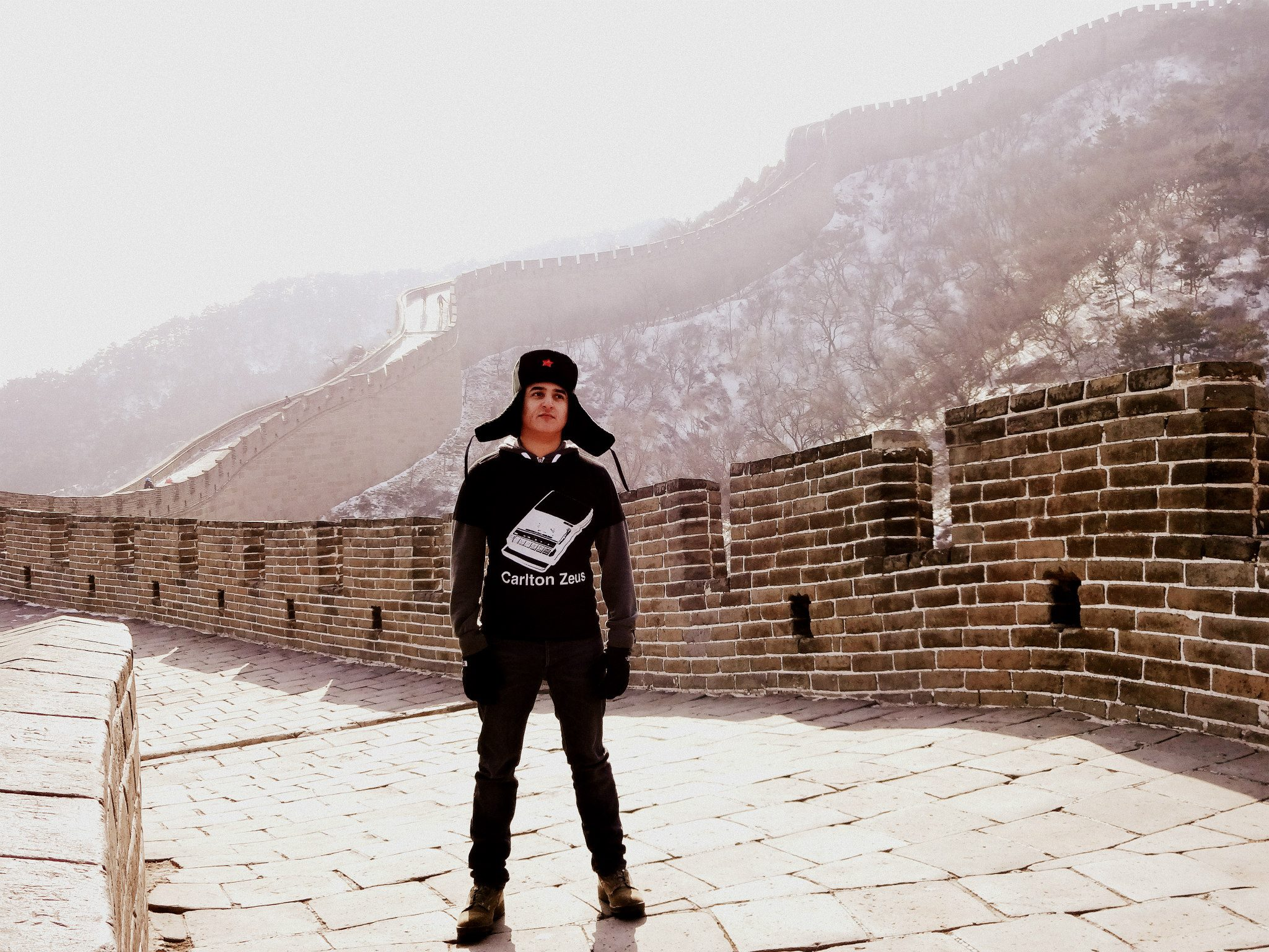 Alex, Great Wall of China