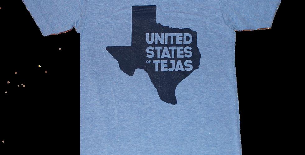 "Unisex ""United States of Tejas"" (Blue)"