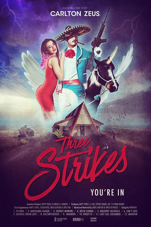 Carlton Zeus texas rapper   Album Three Strikes You're In prod by Happy Perez