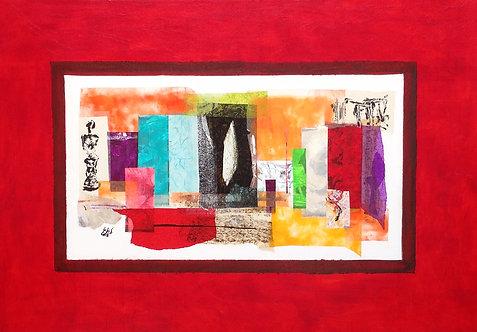 """""""Orient """"  116x80 cm"""