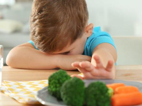 Impossible de lui faire manger des légumes verts