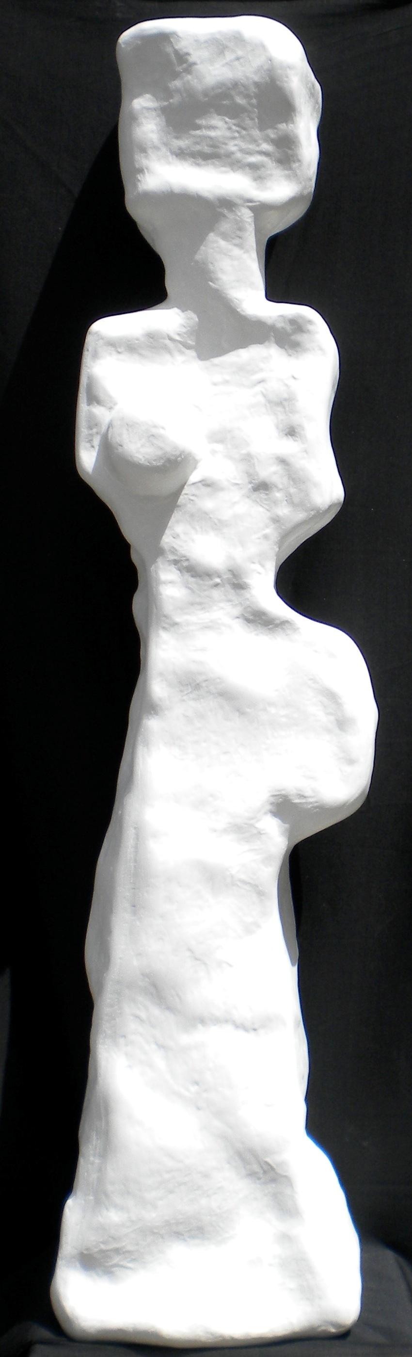 Caroline status rock Blanc