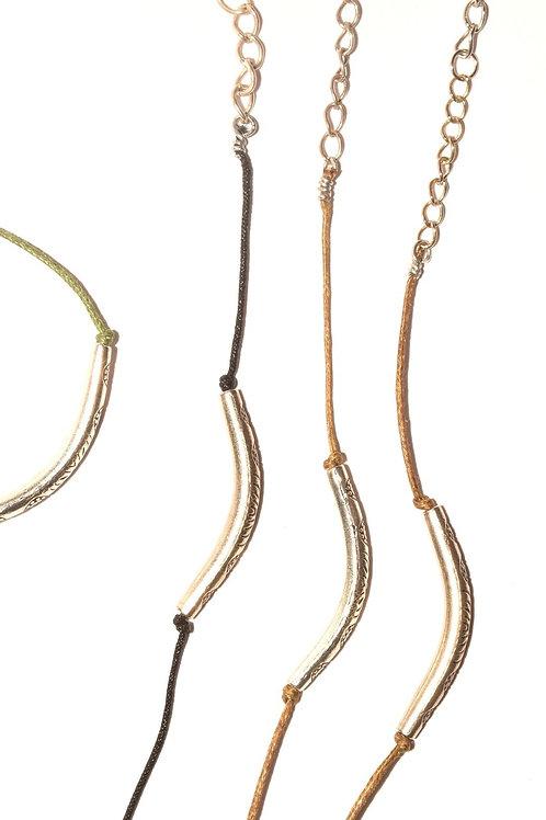 Recycled Ornaments Bracelet