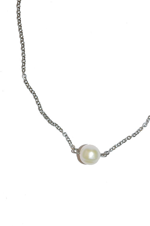 Recycled Pearl Necklace