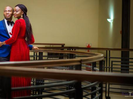KEHINDE + TAYO : PRE-WEDDING SESSION, LEKKI, LAGOS.