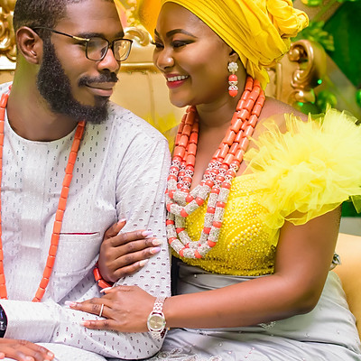 BUKKY AND IFEANYI, TRADITIONAL WEDDING