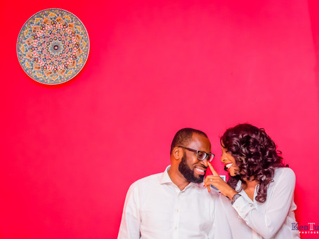 UJU + CHIKE PRE-WEDDING SESSION, ROMA LAGOS.