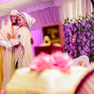 FIKKI AND TUNDE TRADITIONAL WEDDING