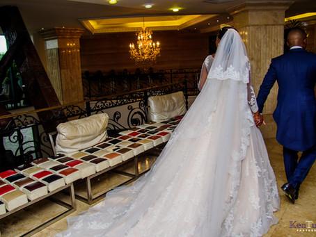 TONY + NKECHI, WHITE WEDDING- LEKKI LAGOS.