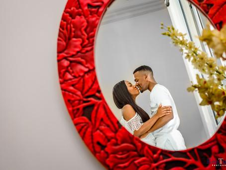 FIKKI + TUNDE PRE-WEDDING SESSION - VI, LAGOS.