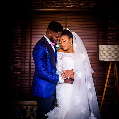GBEMI AND SILAS WHITE WEDDING