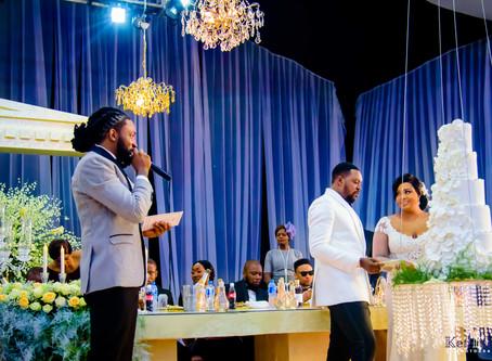 AYO + RENI, WEDDING - FEDERAL PALACE HOTEL,LAGOS.