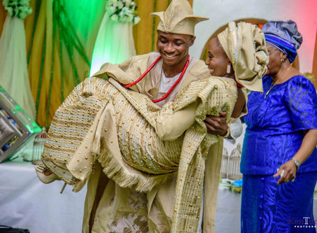 TRADITIONAL WEDDING: FEMI + DEMI, JOGOR CENTRE, IBADAN