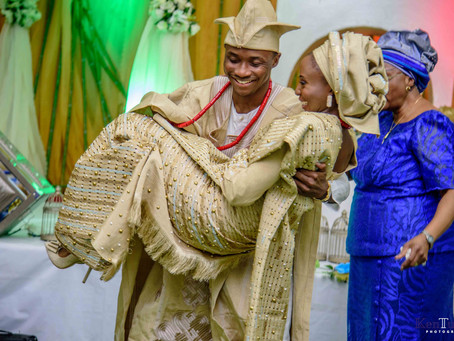 TRADITIONAL WEDDING: FEMI + DEMI, JOGOR CENTRE, IBADAN