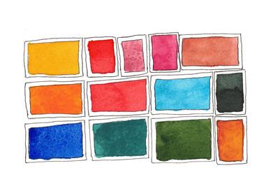 custom watercolor palette