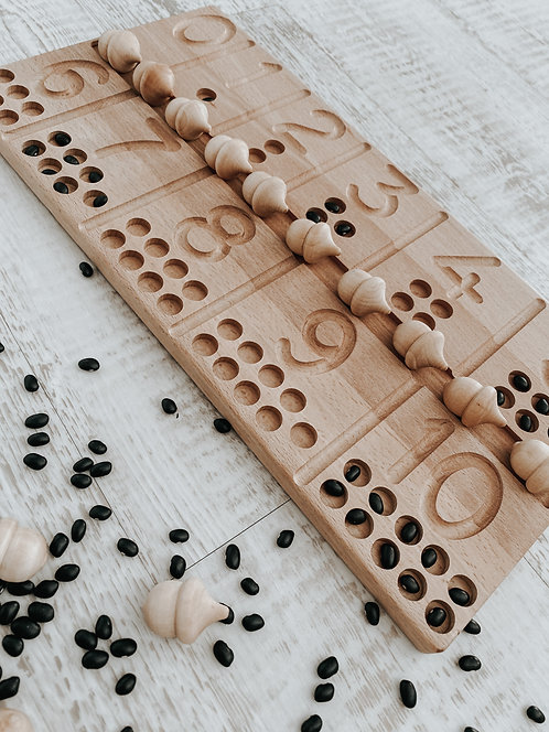 Pippy & Co. | Wooden Number Tracing Board