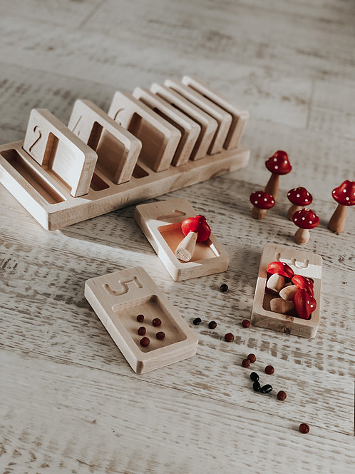 Pippy & Co. | Wooden Counting Trays