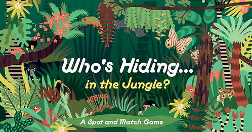 Who's Hiding in the Jungle? | Family Game
