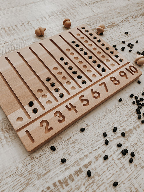 Pippy & Co.   Wooden Abacus Tray
