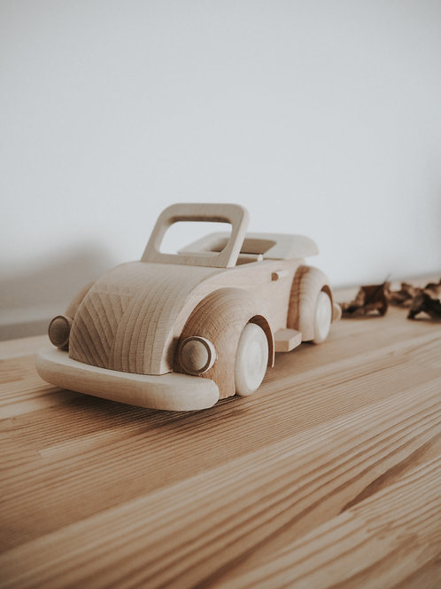 Beep Beep | Handcrafted Wooden Beetle