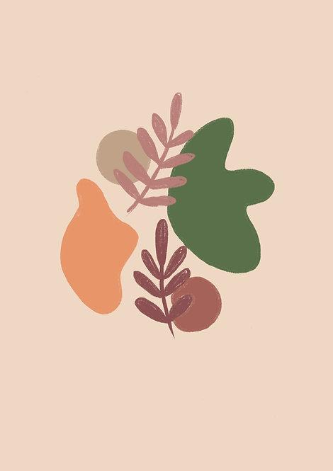 Pippy & Co. | Puddle Leaf Illustration