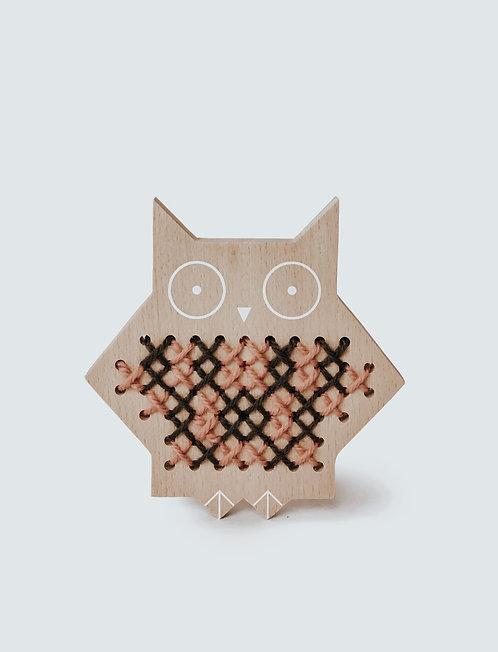 Moon Picnic | Cross Stitch Friends - Owl