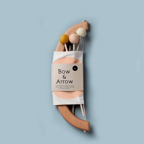 Tangerine Toys | Bow and Arrow Set - Peach