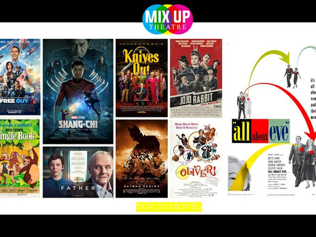 Mix Up Theatre's Top 20 Movies