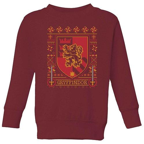 Harry Potter - Christmas Jumper - Gryffindor