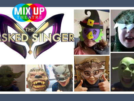 The Masked Mix Up Theatre Singer