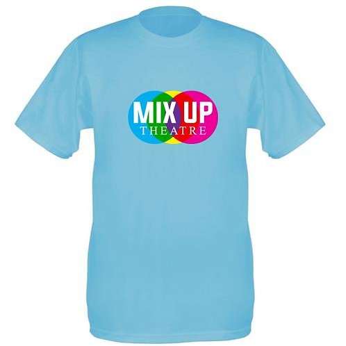 Mix Up Theatre T-Shirt -Sky Blue